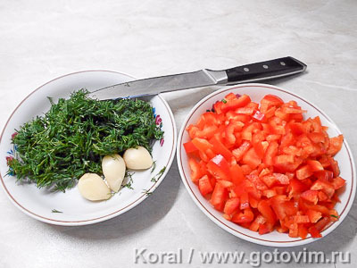 Рулет из куриной грудки с овощами в пароварке, Шаг 01