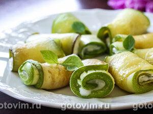 Овощные рулеты – кулинарный рецепт