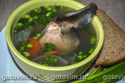 Рыбацкая уха. Фотография рецепта
