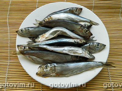 Рыба малосольная в пакетах. Фотография рецепта