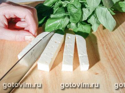 Фотографии рецепта Салат из арбуза с сыром фета, Шаг 02