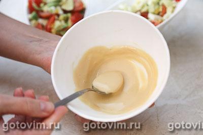 Салат из авокадо с яйцом, Шаг 04