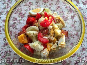 Запеченный картофель с креветками в соусе песто, пошаговый рецепт с фото