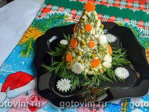 Новогодний салат «Ёлочка»