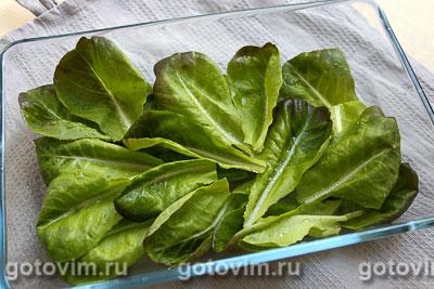 Салат для пикника с фрикадельками и рассольным сыром, Шаг 04