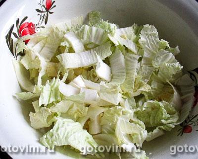 Корейский салат с куриными желудками, Шаг 02