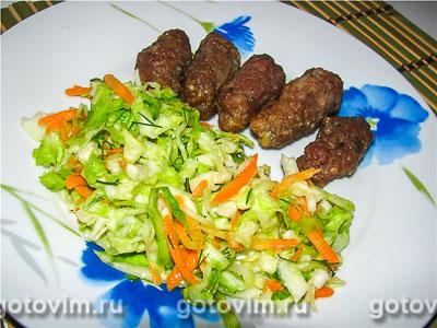 Фотография рецепта Салат из молодой капусты