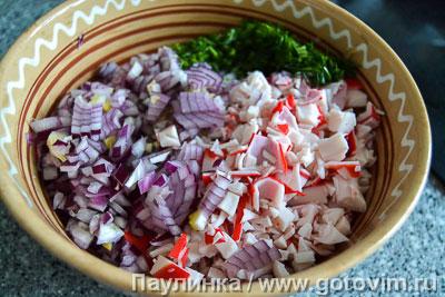 Салат со скумбрией , Шаг 02