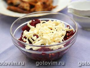 Салат из свеклы с плавленым сыром
