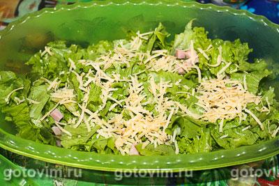 Рецепт пошаговый салата цезарь с пекинской капустой