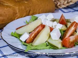 Картофельный салат. Салат из картофеля