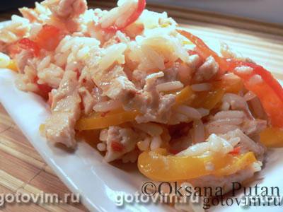 Рецепт приготовления куриной грудки с рисом