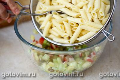 Макаронный салат с крабовыми палочками VIČI, Шаг 05