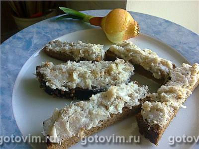 Закуска из сала с чесноком, Шаг 02