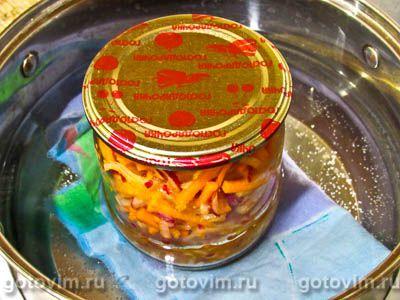 Редиска по-корейски с морковью на зиму, Шаг 07