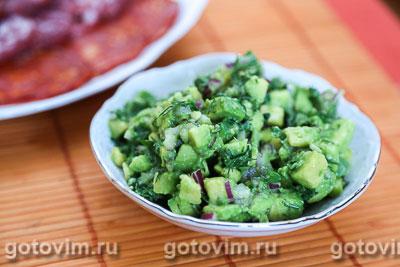 Фотография рецепта Сальса из авокадо