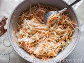 Салат из топинамбура с морковью и яблоком