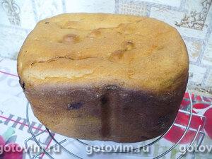 Сдобный хлеб на сметане в хлебопечке