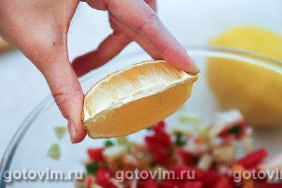 Севиче с сурими мясо VIČI «Любо есть», Шаг 04