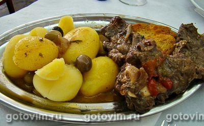 Шанфана - баранина в вине по-португальски (Chanfana)