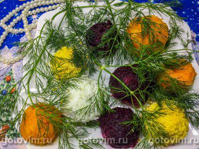 Шарики из шпрот с картошкой, яйцом и майонезом. Фотография рецепта