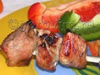 Шашлык свиной в уксусе. Фотография рецепта