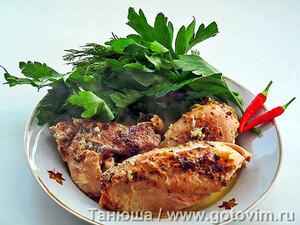 Шкмерули (чкмерули) - курица в молоке по-грузински