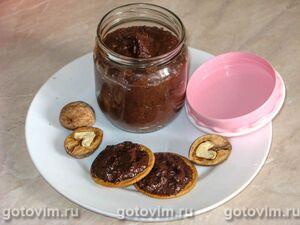Шоколадная паста из грецких орехов