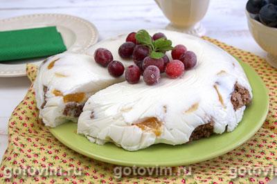Шоколадно-йогуртовый торт. Фотография рецепта