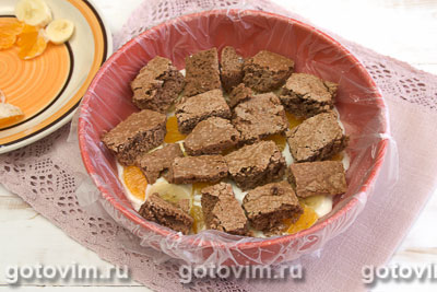 Шоколадно-йогуртовый торт, Шаг 10