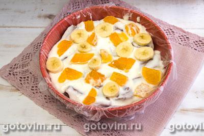 Шоколадно-йогуртовый торт, Шаг 11