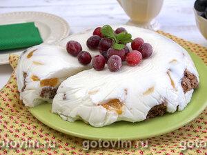 Шоколадно-йогуртовый торт