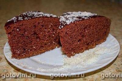Шоколадный пирог на сметане в мультиварке