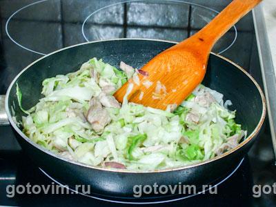 Острый суп с капустой, Шаг 03