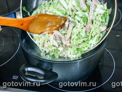 Острый суп с капустой, Шаг 04