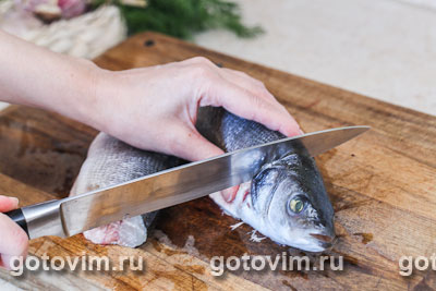 запечь сибаса в духовке рецепты