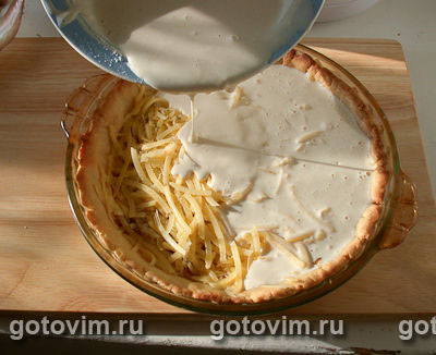 Сырный пирог, Шаг 04