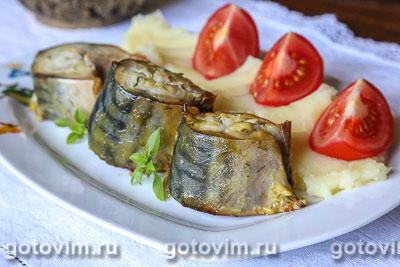 Фотография рецепта Скумбрия в горчичном маринаде