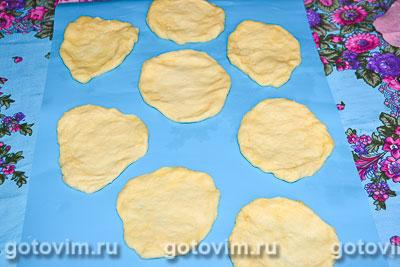 Сладкие булочки с малиновым повидлом, Шаг 05