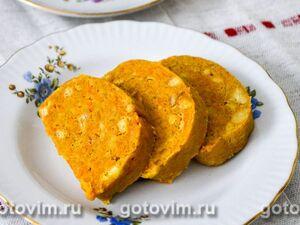 Печеночная колбаса с лапшой быстрого приготовления - рецепт пошаговый с фото