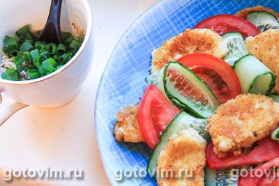 Салат с жареным сыром сулугуни рекомендации