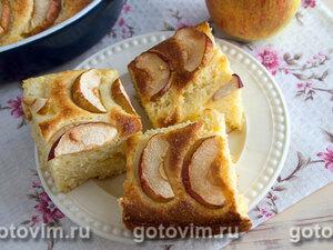 Словацкий творожник с яблоками