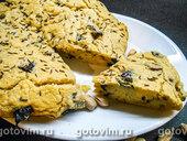 Соленый кекс с черносливом и фисташками