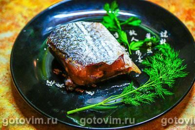 Фотография рецепта Соленая морская рыба в тузлуке