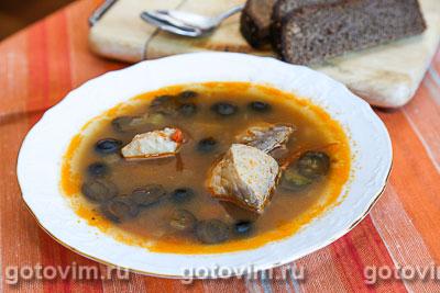 Рыбная солянка (из сазана). Фотография рецепта