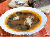Рыбная солянка (из сазана)