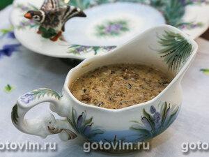 Грибной соус (из лисичек)