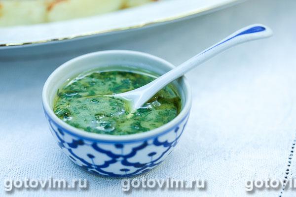 Горчично-укропный соус. Фотография рецепта