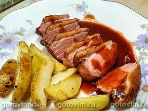 Винный соус к мясу (к утиной грудке)
