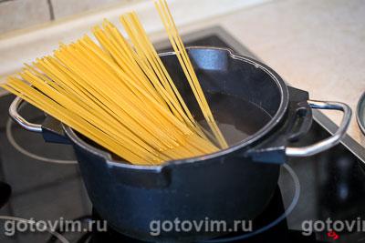 Макароны с крабовым мясом  VIČI , Шаг 01